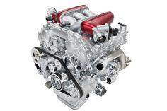 2014 Infiniti Q50 Eau Rouge concept - 3.8 DOHC V-6 GT-R twin turbo engine
