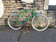 Bike Frame, Vintage Cycles, Color Pop
