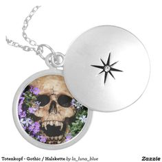Totenkopf - Gothic / Halskette