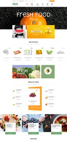 Best premium Magento 2 Food theme for food store. Updated and latest modules support, Ves Fresh will bring the best convenient in searching and purchasing