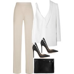 Sem título #776 by oh-its-anna on Polyvore featuring TIBI, Givenchy, Gianvito Rossi and Yves Saint Laurent