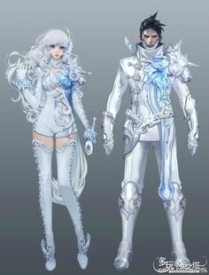 Abyss Leather Armor Concept Art from Aion Fantasy Character Design, Character Design Inspiration, Character Concept, Character Art, Fantasy Characters, Female Characters, Anime Characters, Armor Concept, Concept Art