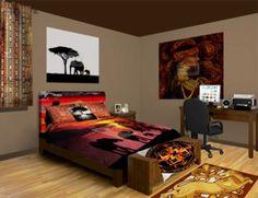 Superior African Bedroom