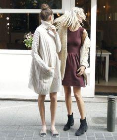 Maxi-Sweater-Dress-Street-Style