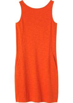 Women's Indigo Cotton Lydia Midi Dress | Toast