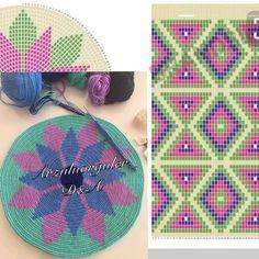 Best 12 T shirt yarn cross body bag – free written pattern – Artofit – SkillOfKing. Tapestry Crochet Patterns, Crochet Art, Thread Crochet, Free Crochet, Hippie Crochet, Crochet Doilies, Cross Stitch Embroidery, Cross Stitch Patterns, Mochila Crochet