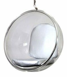Aarnio Bubble Chair in Silver: Amazon.com: Home & Kitchen