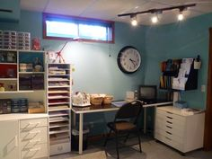 Desk and cabinet by Jsavard - Cards and Paper Crafts at Splitcoaststampers