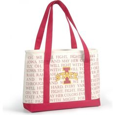 Iowa State Cyclones Fight Song Cooler Tote
