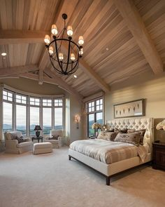 """1,476 Likes, 40 Comments - Cameo Homes Inc. (@cameohomesinc) on Instagram: """"Another shot of one of our favorite Master Bedrooms. #CameoHomesInc #Utah #Tuhaye #interiordesign…"""""""