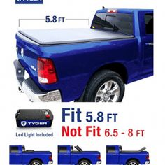 Tyger Auto TG-BC3D1015 Tri-Fold Tonneau Bed Cover Fits 2009-2017 Dodge Ram 1500 5.8' Short Box Best Truck Bed Covers, 2019 Ram 1500, Look Good Feel Good, One With Nature, Buyers Guide, Cool Trucks, Coloring Books, Feelings, 2018 Dodge