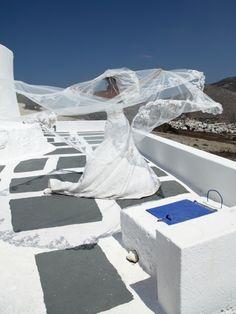 Aspasia Rammos.Santorini wedding greece bride