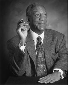 Mr. Bill Cosby/****Earned doctorate in education; first prime time black actor to headline a role; comedienne; Dr. Cliff Huxtable, son, husband, father and physician to many through the multiple seasons of The Bill Cosby Show. Excellent male role model for young black men.