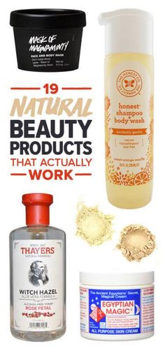 19 Natural Beauty Products That Actually Work