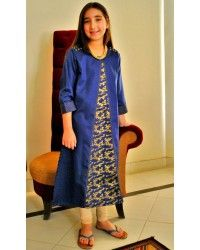 Top Quality Pakistani Attractive Casual Dresses for Girls LifeStyle in reasonable prices - Order now with custom size tailoring option and worldwide shipment service. Girls Casual Dresses, Online Shopping Stores, Designer Collection, Cotton Dresses, White Cotton, Dresses Online, Designer Dresses, Cold Shoulder Dress, Blue And White