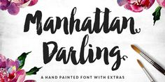 Manhattan Darling Font Free Download