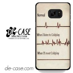 Coldplay Fan DEAL-2767 Samsung Phonecase Cover For Samsung Galaxy Note 7