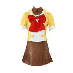 Macross Frontier Cosplay Costume - Mihoshi Academy Female 1st X-Small ** Click image for more details.