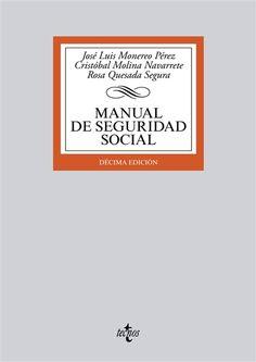 Manual de seguridad social / José Luis Monereo Pérez, Cristóbal Molina Navarrete, Rosa Quesada Segura - Buscar con Google