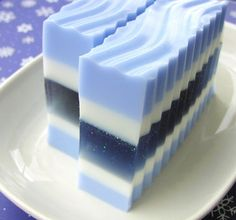 Soap - Winter Wonderland Soap - Christmas Soap - Handmade Natural Glycerin - Our Best Seller for Christmas Gift Giving