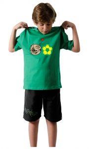 Camiseta Mascote da Copa no Brasil