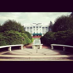 The Greenbrier - a four-star luxury resort, and is also the site of a massive underground bunker that was meant to serve as an emergency shelter for the United States Congress during the Cold War.  Open to the public for tours.