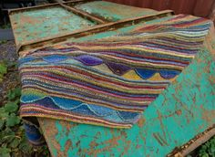 Octopus Garden Shawl | Free Knitting Pattern - Biscotte Yarns Ringo Starr, Octopus, Free Knitting, Knitting Patterns, Richard Starkey, Beatles Albums, Needle Gauge, Stockinette, Stitch Markers
