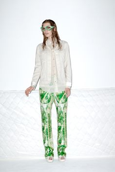 Acne Resort 2013.  Look 5.