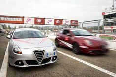 Alfa Romeo Driving Day @ Varano #AlfaDrivingDAy Driving Courses, Alfa Alfa, Alfa Romeo, Bmw, Passion