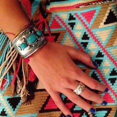 Arm candy and mochila