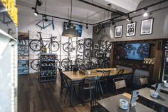 The changing face of the British bike shop-Performance Cycling, Harrogate by Russell Ellis crop