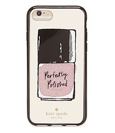 kate spade new york Perfectly Polished iPhone 7 Case #Dillards