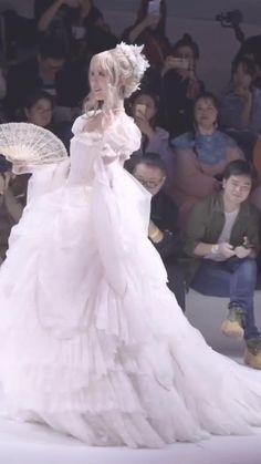Pretty Quinceanera Dresses, Pretty Dresses, Beautiful Dresses, Wedding Dresses, Kawaii Fashion, Lolita Fashion, Ball Dresses, Ball Gowns, Kawaii Dress