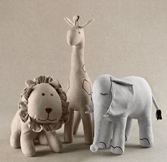 Chambray Animals | Toys | Restoration Hardware Baby & Child