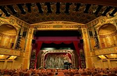PlayhouseSquare's Hanna Theatre. It is  the home of the Great Lakes Theater Festival. Built in 1921.