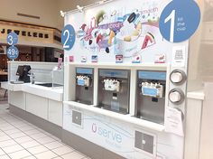 Yogen Fruz allows you decide how much frozen yogurt and toppings you want!