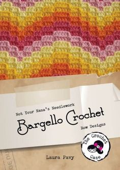 Bargello crochet with video tutorial. Yet another new stitch for me to try.