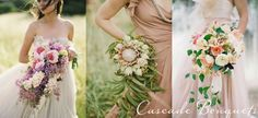 Cascade Bouquets - my bouquet made the blog South Bound Bride all the way in South Africa!