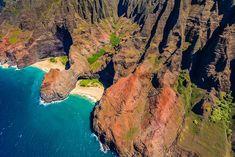 The Most Exotic Beaches In The World | Honopu Beach | Kauai, Hawaii | Travel