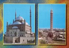 Mohamed Ali Mosque Citadel & The Cairo Tower