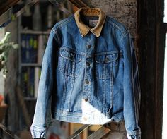 Can never resist an awesome denim jacket