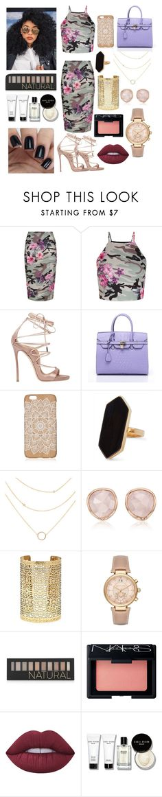 """""""Sin título #58"""" by pologulo ❤ liked on Polyvore featuring New Look, Dsquared2, Jaeger, Monica Vinader, Forever 21, Michael Kors, NARS Cosmetics, Lime Crime and Bobbi Brown Cosmetics"""
