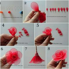 making silk flowers instructions