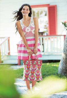 vera bradley colorful tote