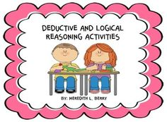 4 logical and deductive reasoning activities