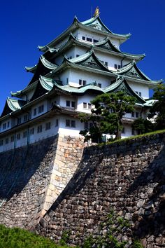 名古屋城の画像(写真)Nagoya Castle, Aichi, Japan. I was here in Oct.;12 and saw the golden dolphins on top.