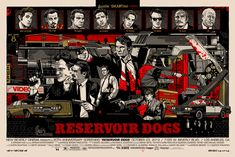 Tyler Stout's RESERVOIR DOGS Poster by Mondo | Collider