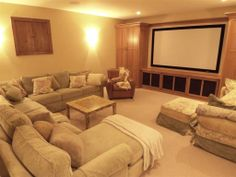 Traditional Home Theater - Find more amazing designs on Zillow Digs!