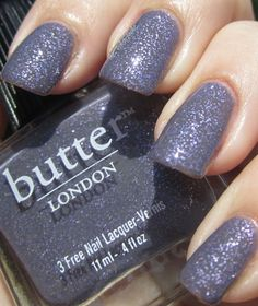 "Butter London ""No More Waity, Katie"" (yes, one of the main reasons I bought this is because my name is in the title)"