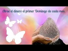 """Attracts Money with Water and Salt """"MAGICAL TIPS"""" The first Sunday of each month. - YouTube"""